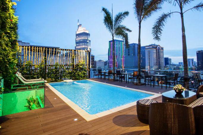 Tư vấn thiết kế hồ bơi khách sạn, xây dựng hồ bơi khách sạn