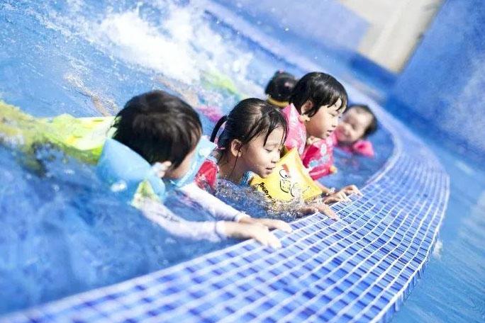 Tư vấn thiết kế, xây dựng hồ bơi trẻ em