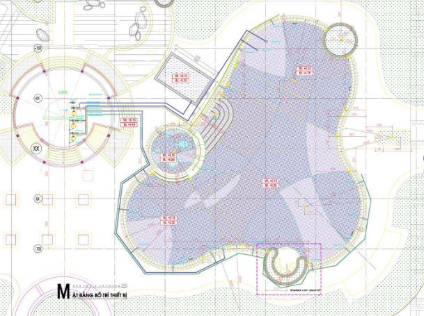 Bản vẽ mẫu thiết kế hồ bơi cho resort tham khảo