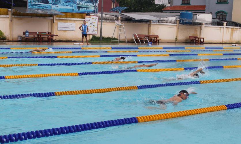 Nồng độ PH hồ bơi thể thao