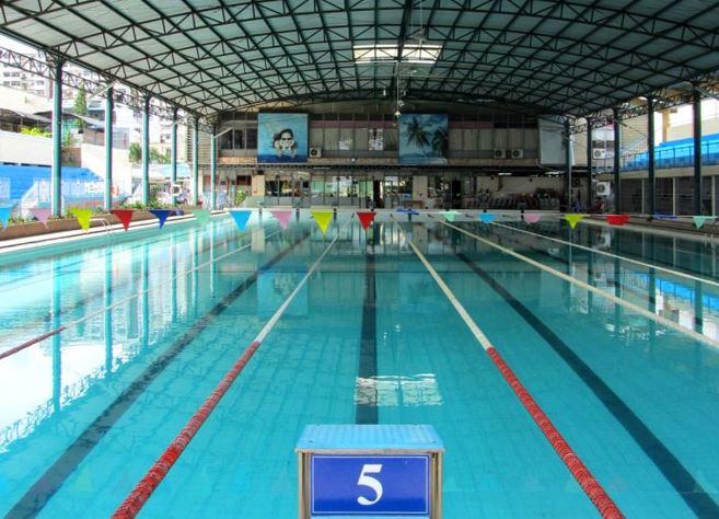 Review hồ bơi Hải Quan tại TPHCM