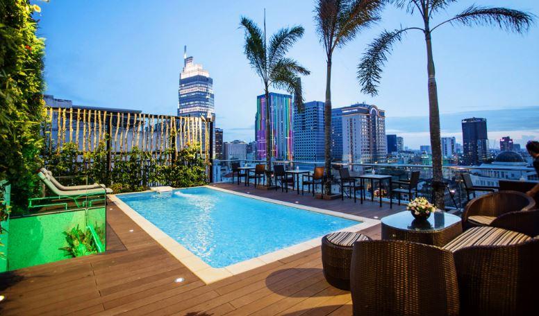 Tư vấn thiết kế hồ bơi khách sạn giá tốt tại TPHCM
