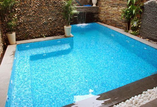 Công dụng của gạch mosaic hồ bơi