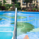 Keo dán hồ bơi